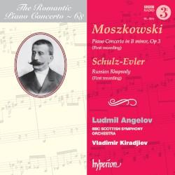 The Romantic Piano Concerto, Volume 68: Moszkowski: Piano Concerto in B minor, op. 3 / Schulz-Evler: Russian Rhapsody by Moszkowski ,   Schulz-Evler ;   Ludmil Angelov ,   BBC Scottish Symphony Orchestra ,   Vladimir Kiradjiev
