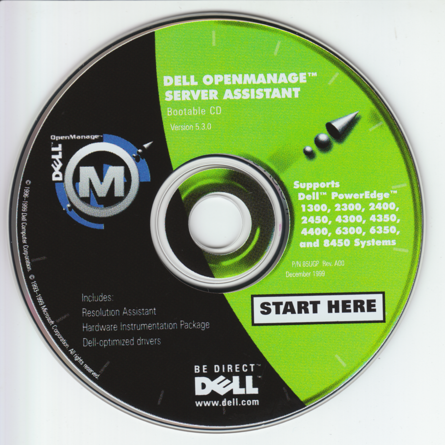 Dell OpenManage Server Assistant v5.3.0 (85UGP-A00)