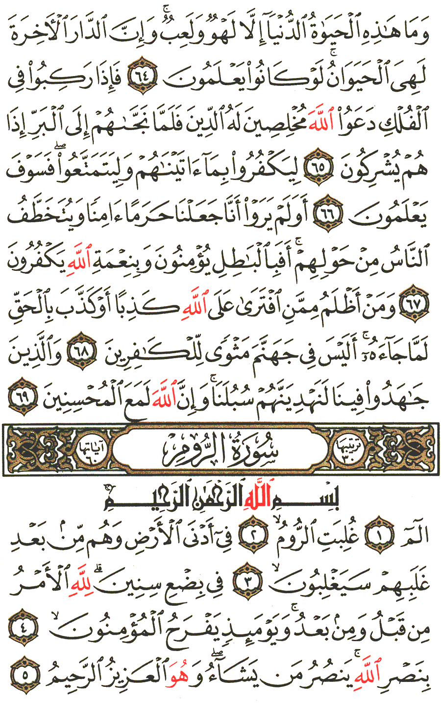 Page No 404  The Noble Quran