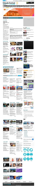 Orlando Sentinel at Friday Aug. 29, 2014, 3:12 p.m. UTC