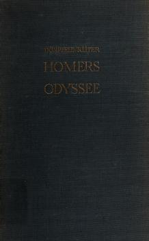 Cover of: Homers Odyssee | Homer